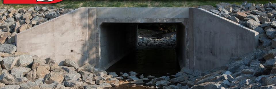 Precast Concrete Wingwalls : Box culvert bridge products